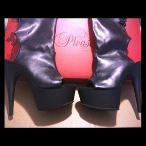 Pleasure thigh high boots